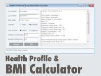 Java Body Mass Index Calculator